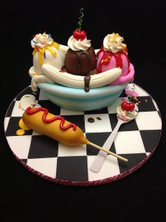 All sizes | My demo cake from the class I taught today | Flickr - Photo Sharing!