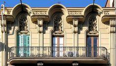 Casa Jeroni F. Granell  1897  Architect: Jeroni Francesc Granell i Manresa