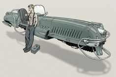 Because Steam Punk isn't dirty enough.-Dieselpunk.  Brief description and details on sub-genres