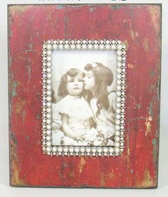 Fischer & Aniston — Red Wood Picture Frame 4 x 6