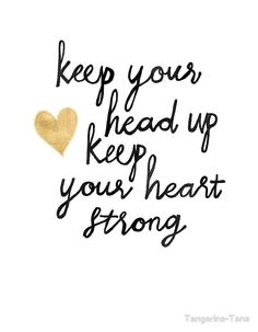 keep your heart strong poster