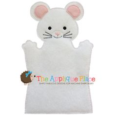 Mouse Hand and Finger Puppet In The Hoop by TheAppliquePlace, $4.00