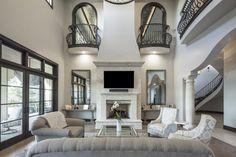 Clean European | Vanguard Studio | Architect Austin, Texas Texas Mansions, Marble Falls, Autumn Home, Austin Texas, My House, Gallery Wall, Layout, Cleaning, Studio