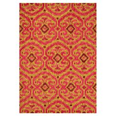 Found it at Wayfair - Milano Gold / Berry Rug