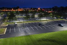 Learn how LED parking lot and fluorescent office lighting from GE is helping MetLife to use million fewer kWhs of electricity a year across multiple properties. Poles For Outdoor Lights, Outdoor Led Signs, Outdoor Lighting, Garage Lighting, Office Lighting, Exterior Lighting, Industrial Led Lighting, Industrial Light Fixtures, Led Parking Lot Lights