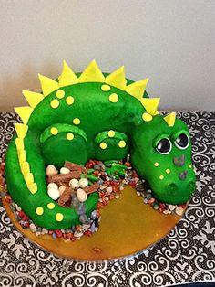 Dinosaur Kids Cake . . .