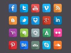 Long-Shadow-Social-Media-Icons