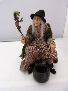Hey, I found this really awesome Etsy listing at https://www.etsy.com/listing/201011651/dollhouse-miniature-pendle-hill-witch-by