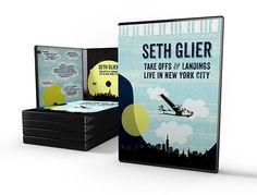 "#SethGlier's ""Take Off & Landings: Live In New York City"" DVD http://mpressrecords.myshopify.com/collections/seth-glier/products/take-offs-landings-live-in-new-york-city"