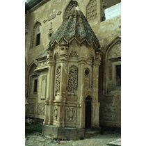 Ishak Pasa Sarayi (Ishak Pasha Palace), near Dogubayazit: the 'turbe' (tomb) of the ruler and his wi