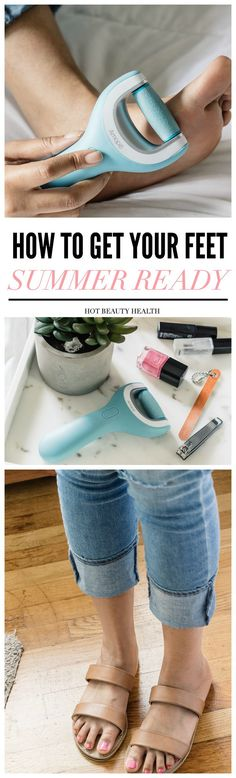 By following this diy simple beauty routine at home, your feet will be soft, smooth, polished, and summer ready in no time!