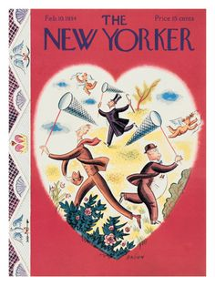 The New Yorker Cover - February 10, 1934 Giclee Print by Harry Brown at Art.com