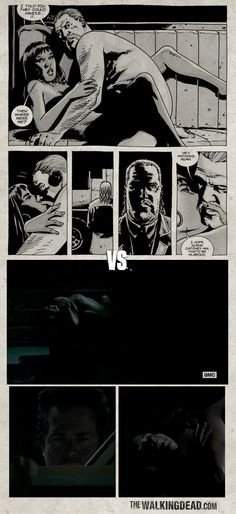 The Walking Dead Season 5 Episode 5: Self Help. Here's a comparison of the live-action series and from TWD comicbook where Eugene, that post-apocalyptic pervert, was watching Abraham and Rosita making love.. in the dark.. from the Self Help section. ROFLMAO! - Rushdan Rashid