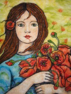 Marina Lubomirsky-needle felting art!!!!!