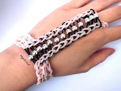 Pulsera anillo de gomitas y cuentas | Ring bracelet #raimbowloom #pulserasdegomitas #pulserasdeligas #DIY #pulseras