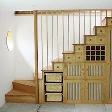 Classic Small Room Storage Ideas Under The Stairs : Small House Storage Ideas: Maximize Your Limited-Space Interior With Under The Innovative Stairs Storage Ideas And Designs . small house,storage ideas,under stairs shelves,under stairs storage ideas Small Space Staircase, Space Saving Staircase, Staircase Storage, Loft Stairs, Stair Storage, House Stairs, Under Stairs, Staircase Design, Staircase Ideas