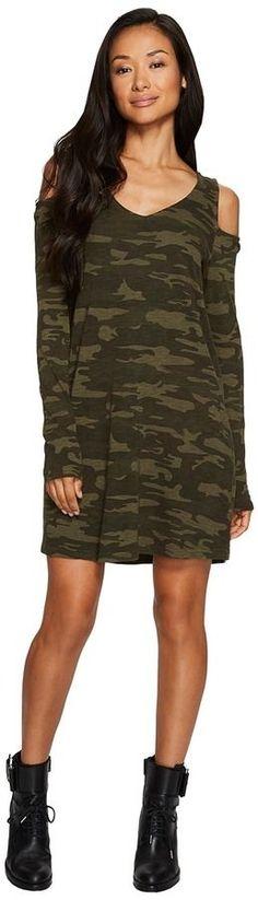 Sanctuary Morgan T-Shirt Dress - Camo Women's Dress