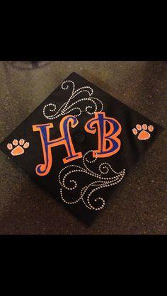 MY cap!! Personalized by me!! :)  SHSU graduation Sat. Dec. 15, 2012 Eat 'em up Kats!