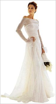 Love The Simplicity And Long Sleeves On This Wedding Dress Of Le Spose Di Gio