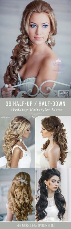70 ideas for wedding hairstyles boho updo half up – ,. - - 70 ideas for wedding hairstyles boho updo half up – , Unique Wedding Hairstyles, Wedding Hairstyles Half Up Half Down, Boho Hairstyles, Vintage Hairstyles, Hairstyle Ideas, Hair Ideas, Elegant Hairstyles, Bridal Hairstyle, Hairstyles Pictures