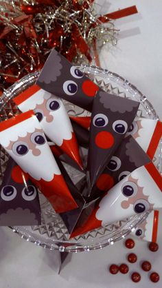 Santa and Rudolph Candy Wrapper - I'll try and put up the instructions soon