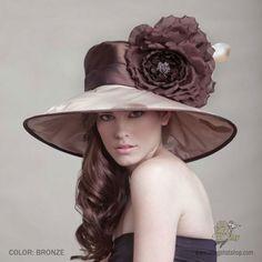 Madeline Widebrim Hat by Arturo Rios