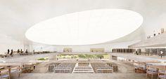 Images Released of New Herzog & de Meuron-Designed National Library of Israel