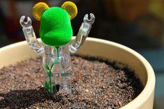 Bearbrick plant | Flickr - Photo Sharing!