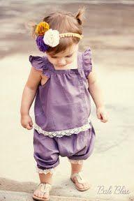 Perfect Purple Romper