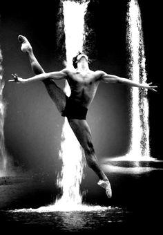 """Magnificent Dancer Black & White #dance #photography"""