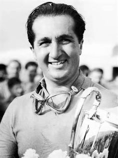 Alberto Ascari(I) Born 13 July 1918 Died 26 May 1955 (aged 36) Killed while testing @ the Circuit Monza