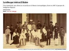 Imperio en la vitrina : la Exposición de Filipinas de 1887 / @el_pais | #socialhistory #socialgeo