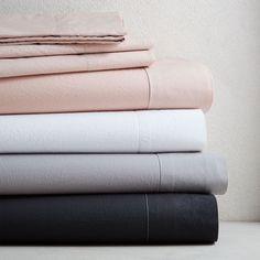 Organic Washed Cotton Sheet Set