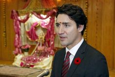 Canadian Prime Minister Justin Trudeau speaks at a Hindu temple in Ottawa, Canada, November 11, 2015... - REUTERS/Patrick Doyle
