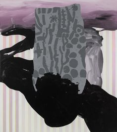 Charline von Heyl at Petzel - Two Coats of Paint