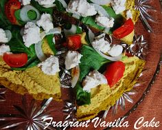 Raw Squash Hummus Pizza from Fragrant Vanilla Cake