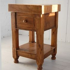Small Butchers Block Island