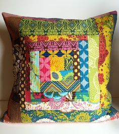 Anna Maria Horner Quilted Pillow