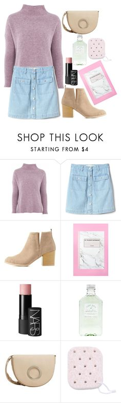 """it's youu"" by darling-ange1 ❤ liked on Polyvore featuring Topshop, Gap, Charlotte Russe, NARS Cosmetics and MANGO"