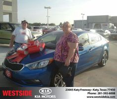 #HappyBirthday to Charlett Austin from Gil Guzman at Westside Kia!