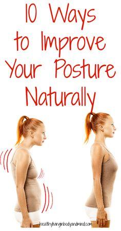 10 Ways to Improve Your Posture Naturally