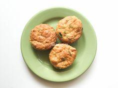 BRIOȘE CU DOVLECEL SI IAURT Baby Food Recipes, Feta, Almond, Muffin, Cookies, Breakfast, Desserts, Recipes For Baby Food, Crack Crackers