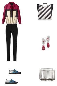 """Grace"" by zoechengrace on Polyvore featuring Givenchy, Balenciaga, Lipsy, Giuseppe Zanotti, Christies and CB2"