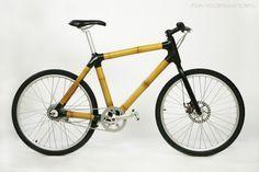 Bicicleta de bambu de Flavio Deslandes