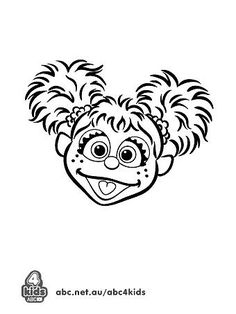 sesame street abby cadabby coloring pages | Sesame street party on Pinterest | 27 Pins