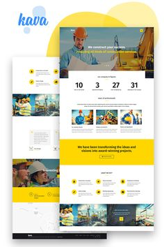 Construction Website, Construction Theme, Web Layout, Layout Design, Web Design, Corporate Website, Blog Sites, Best Wordpress Themes, Design Templates