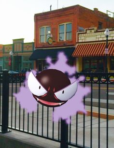 Gastly sighting in Cripple Creek on the Colorado Jeep Tours Gold Belt Tour.