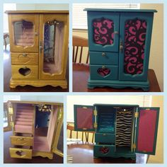 UPcycled Jewelry Box. Before & After