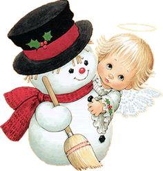 Aqui estão alguns bonecos de neve para vocês criarem o que quiser para o Natal ! ...