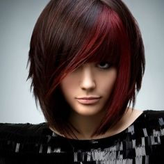 Colors - Deep brown and red